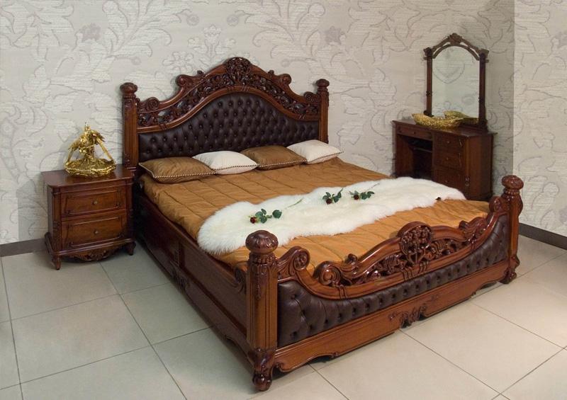 Спальный гарнитур своими руками из дерева